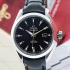 Omega Ladies Aqua Terra Co-Axial Date Black Dial 34MM SS