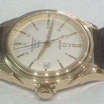 Omega De Ville Co-Axial GMT yellow gold ref.46.33.30.31