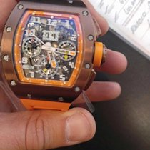 Richard Mille RM 011  Limited Edition Titanium USA Brown