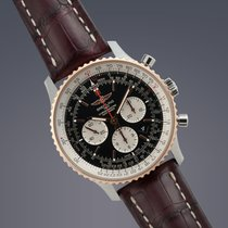 Breitling Navitimer 01 stainless steel automatic chronograph...