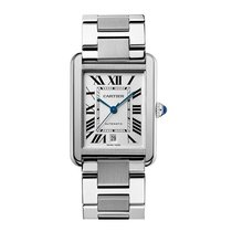 Cartier Tank Solo Automatic Date Mens watch w5200028