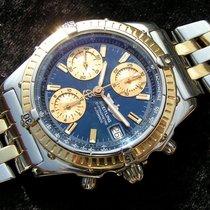 Breitling Chronomat Gt D13350 Mit Goldlünette Mit Stahl Gold...