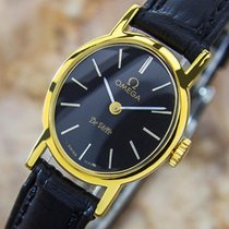 Omega Deville Manual Gold Plated Swiss Made Dress Watch C1980 Pb8