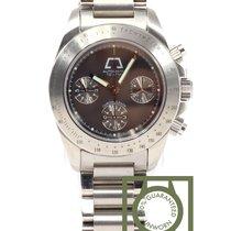 Anonimo Opera Meccana Chronograph full steel black dial  NEW