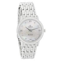 Omega DeVille Prestige Ladies Diamond Swiss Quartz Watch...