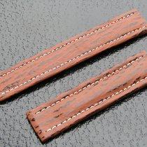 Breitling Utc Haiarmband 20/18mm Brown Braun Hai Für Faltschli...