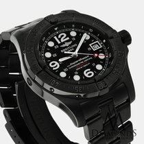 Breitling Superocean Black Pvd Steel 44mm Black Dial Watch A17390