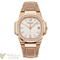 Patek Philippe Nautilus 18K Rose Gold Ladies Watch