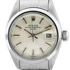 Rolex Date 6916 Stainless Steel Ladies Watch