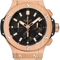 Hublot Big Bang Rose Gold Mens Watch Gold Bracelet