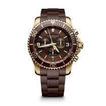 Victorinox Swiss Army Maverick Chronograph, date, brown dial,...