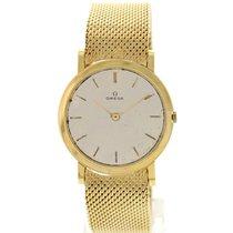 Omega Men's Vintage Omega 18K Yellow Gold Watch