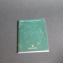Rolex Cosmpgraph Daytona Booklet