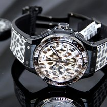 Hublot [NEW] Big Bang Chronograph Snow  Leopard
