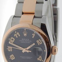 Rolex Datejust 18k Rose Gold & Stainless Steel Concentric...