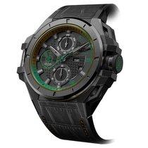Snyper Ironclad Steel PVD Black Green Edition