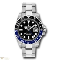 Rolex Oyster Perpetual Date GMT-Master II Stainless Steel...