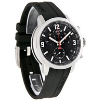 Tissot PRC 200 Mens Swiss Quartz Chronograph Watch T055.417.17...