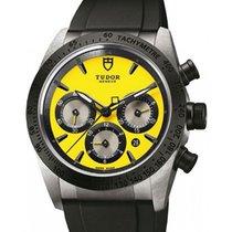 Tudor Fastrider Chronograph 42010N-Yellow Yellow Index...