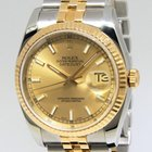 Rolex Datejust 116233 18k Yellow Gold Stainless Steel M...