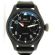 IWC Top Gun Iw501901 Cassa In Ceramica E Titanio, 48mm