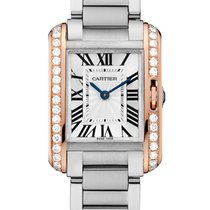 Cartier- Tank Anglaise Kleines Modell, Ref. W3TA0002