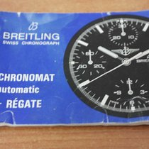 Breitling vintage booklet chronomat model regate