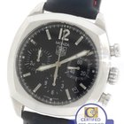 TAG Heuer Monza Stainless Steel Swiss Chronograph Leather Watch