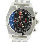 Breitling Chronomat 47 GMT Black Dial Stainless Steel