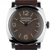 Panerai Radiomir 1940 3 Days Stahl Handaufzug Armband Leder...