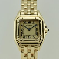 Cartier Panthere Quartz 18K Gold Lady