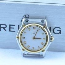 Ebel Classic Wave Damen Uhr 1911 23mm Quartz Stahl/gold Ohne...