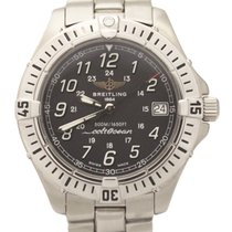 Breitling Colt Stainless Steel Black Dial Quartz 38mm A64350...