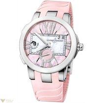 Ulysse Nardin Executive Dual Time Full Pink Women`s Watch