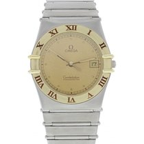 Omega Constellation Chronometer 3980876 18k YG/ SS