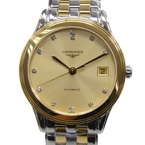 Longines Flagship Pvd Gold Gold Automatic L4.774.3.37.7