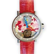 Alain Silberstein Tourbillon Stainless Steel Watch