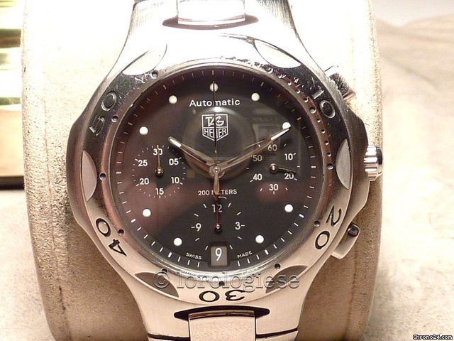 TAG Heuer KIRIUM AUTOMATIC CHRONOGRAH - Box &amp;amp; Papers