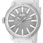 EDC EE100922017 Glitter Star Pure White Damenuhr 42 mm