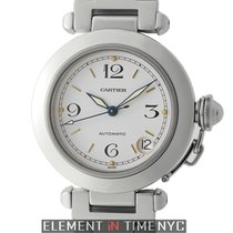 Cartier Pasha Collection Pasha C Automatic 35mm White Dial...