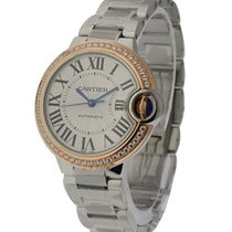 Cartier Ballon Bleu 33mm Steel and Rose Gold