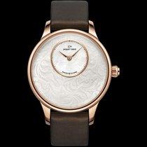 Jaquet-Droz Petite Heure Minute Art Deco in Rose Gold