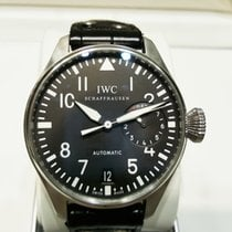 IWC Cally - IW500901 The Big Pilot's Steel with Black Dial