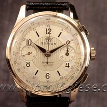 Sofior Vintage 18kt. Red Gold 38mm Chronograph Cal. Valjoux 22