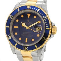 Rolex Oyster Perpetual Date 18K Gold/SS Submariner 16803