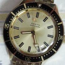 Zenith RARE SUB-SEA REF P3632 DIVER VINTAGE fullset