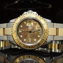 롤렉스 (Rolex) 2004 Yachtmater, Steel & Gold, 29mm, Black...