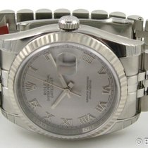 Rolex - Datejust : 116234 srj silver Rhodium dial on Jubilee...