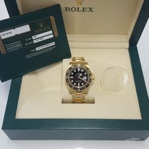 Rolex Gmt Master 2 18K Yellow Gold Black Dail