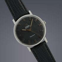 Omega Geneve steel automatic watch